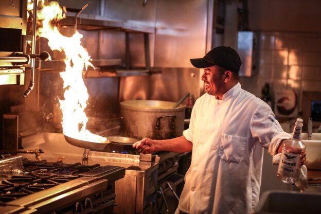 Bewerbung als Koch
