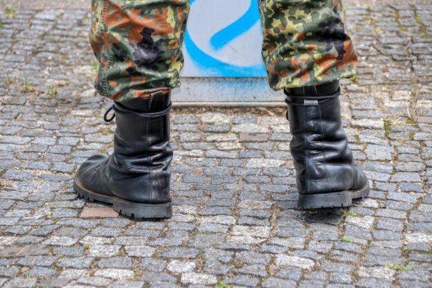Offizier bei der Bundeswehr