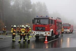 Einstellungstest der Feuerwehr