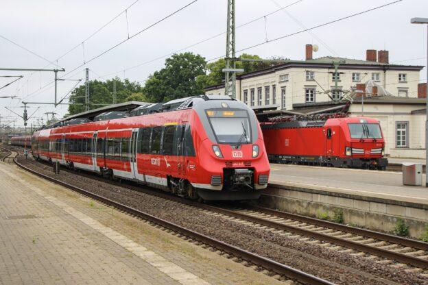 Elektroniker bei der Deutschen Bahn