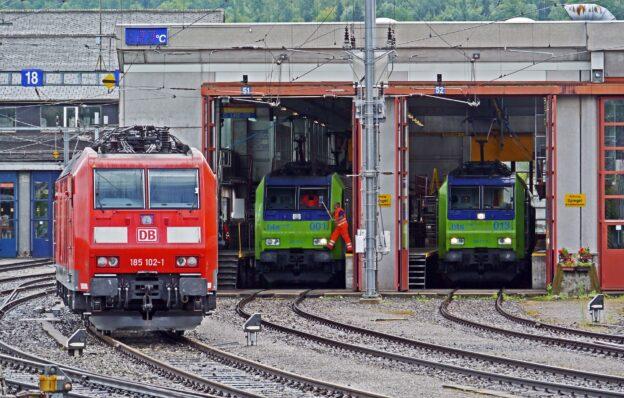 Rangierbegleiter bei der Deutschen Bahn
